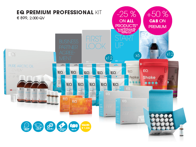 eq premium professional kit