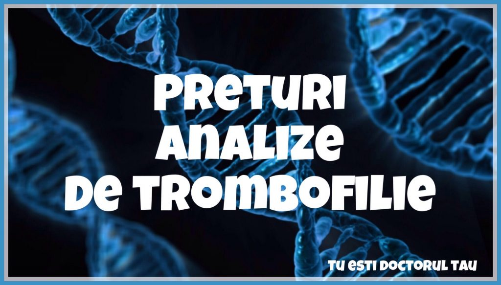 analize trombofilie decontate