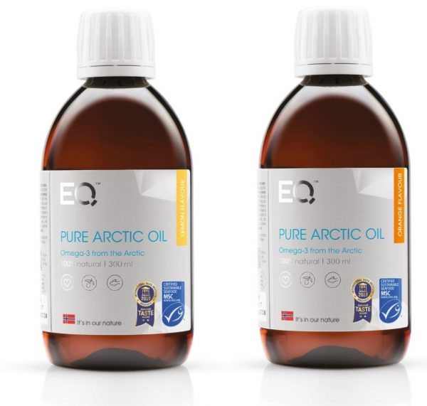 eq pure arctic oil lemon orange